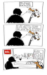 blog bd Humour noir Pourquoi mon chien mange son caca