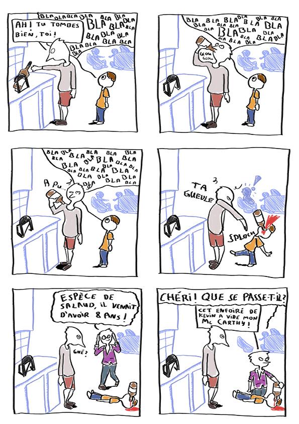 enfants en soirée
