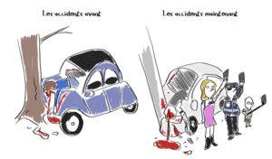 bd humour noir crash