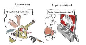 bd humour noir guerre