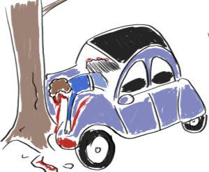 bd humour noir accidents