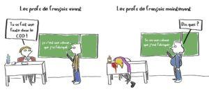 bd humour noir profs