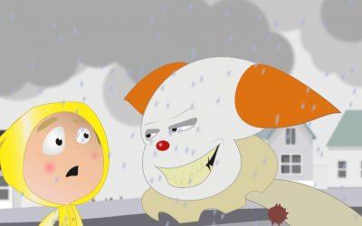 Pennywise + Georgie scene (Animation parodie)