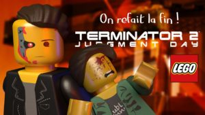 lego stop motion terminator