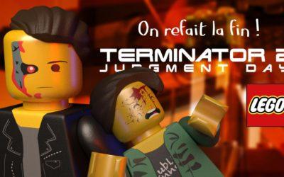 lego stop motion animation TERMINATOR 2 – On refait la fin !