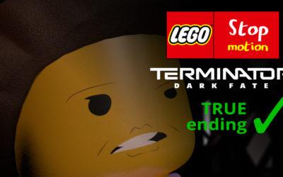 Lego stop motion terminator Dark fate