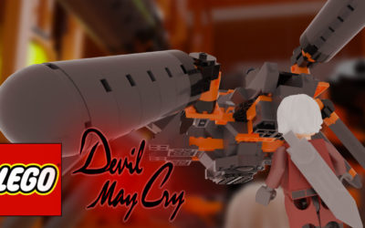 Devil may cry la rencontre de phantom en animation Lego