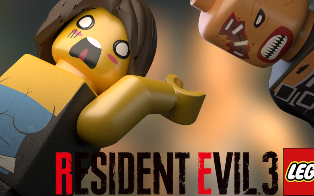 Lego stop motion resident evil 3 nemesis