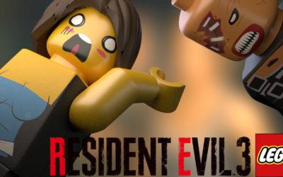 Resident evil 3 nemesis en Lego Stop motion !