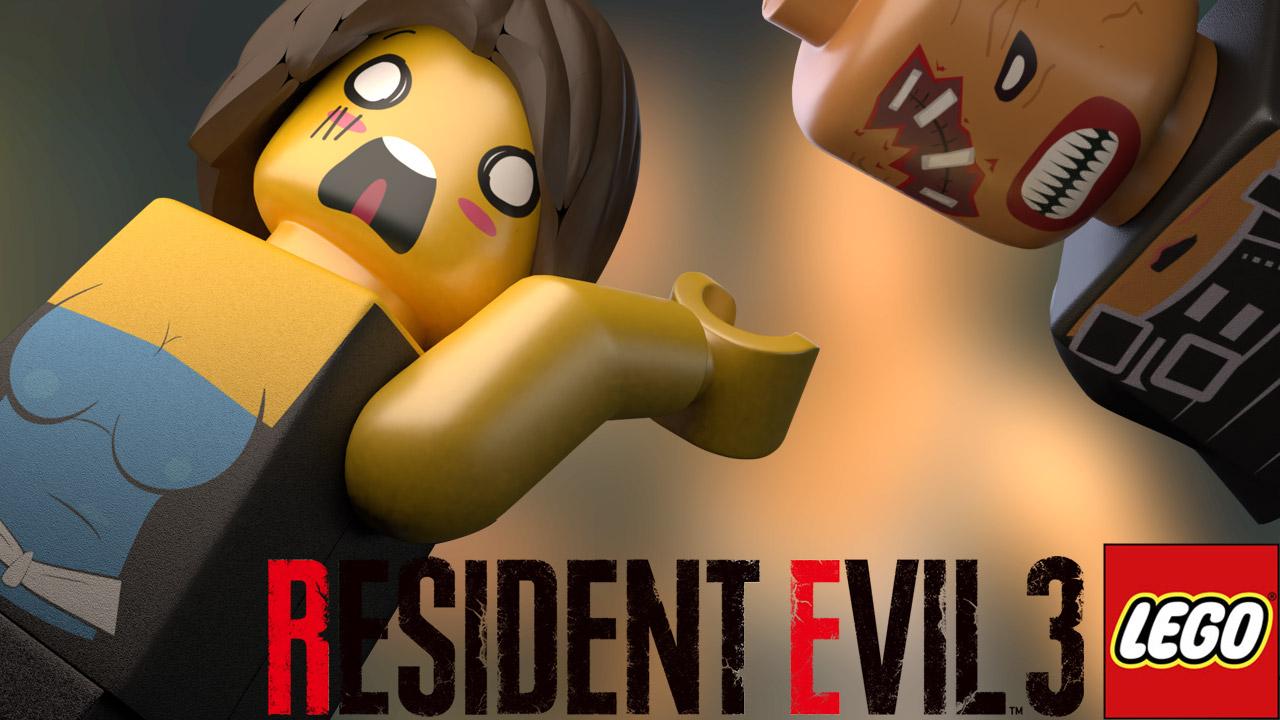 resident evil 3 nemesis lego