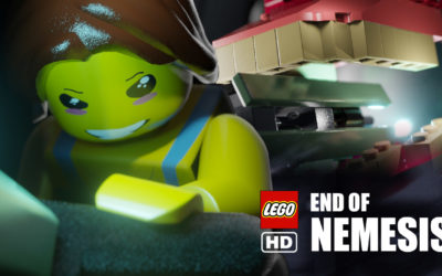 La fin de resident evil 3 en lego stop motion