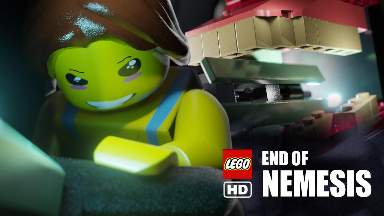 resident evil 3 remake fin en lego