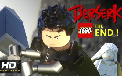 La fin du manga berserk en animation lego !
